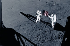 Apollo 11 Flag Raising